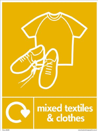 Mixed textiles and clothes